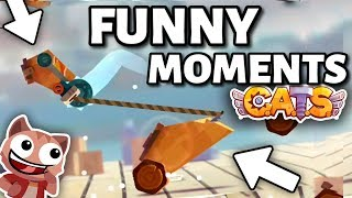 FUNNY MOMENTS & EPIC FIGHTS C.A.T.S: Crash Arena Turbo Stars