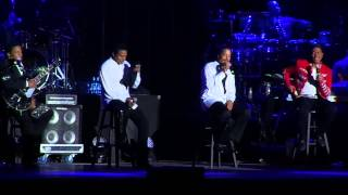 The Jacksons--We're Here To Entertain You / Good Times--PNE Vancouver--2013-08-18