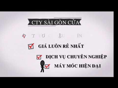 VIDEO GIỚI THIỆU VỀ CTY SÀI GÒN CỬA