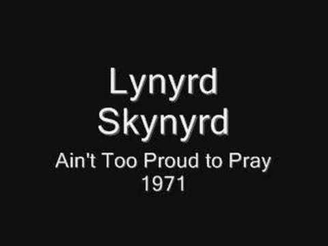 Música Ain't Too Proud To Pray