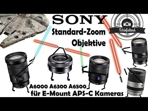 📷 Die besten Standard-Zoom-Objektive für Sony E-Mount APS-C Kameras (A6000, A6300, A6500)