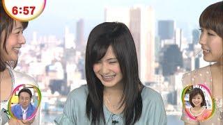市道真央めざましテレビ「イマドキ」◆12/04/02