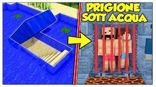 ARRESTATI E IMPRIGIONATI NELLA PRIGIONE SOTT'ACQUA! - Minecraft ITA