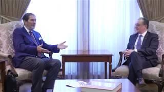 ԱԳ նախարար Զոհրաբ Մնացականյանի հանդիպումը ՍԾՏՀԿ ՄՄՔ գլխավոր քարտուղար Մայքլ Քրիստիդեսի հետ