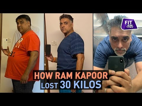 This Is How Ram Kapoor Shed 30 Kgs | Fit Tak
