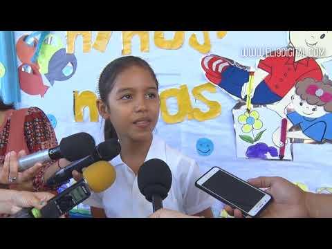 Estudiantes de primaria continúan su educación