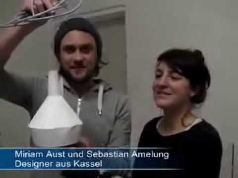Designerlampen aus Beton - Hergestellt in Kassel