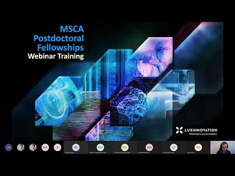 MSCA Postdoctoral Fellowships Webinar Training