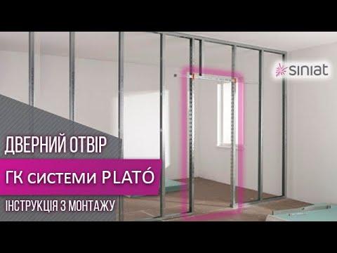 Выполнение дверного проема и завязка угла в гипсокартонных конструкциях