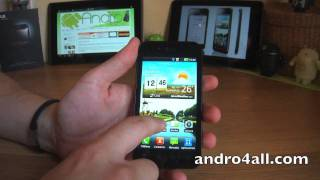 Videoreview LG Optimus Black