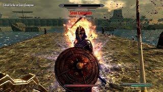Skyrim mod: Maids II - Deception #37 The Epic Battle of Sky's Divide