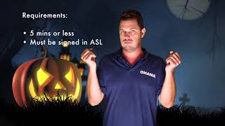 ASL Scary Story Contest