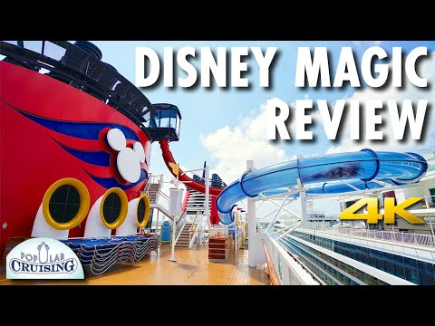 Disney Magic Tour & Review ~ Disney Cruise Line ~ Cruise Ship Tour & Review [4K Ultra HD]