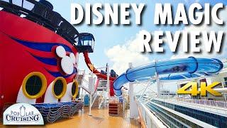 Disney Magic Tour & Disney Magic Review ~ Disney Cruise Line ~ Cruise Ship Review [4K Ultra HD]