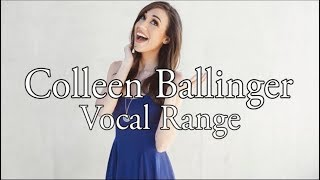 [HD] Colleen Ballinger Vocal Range (B2 - G#7)