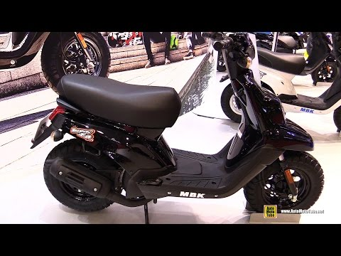 2016 MBK Booster One 50cc Scooter – Walkaround – 2015 Salon de la Moto Paris