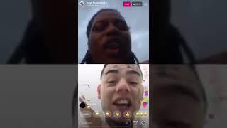 FBG Duck vs 6ix9ine Live On Instagram (FULL VIDEO)