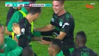 Santa Fe Vs. Cali (1-2) | Liga Aguila 2019-I | Fecha 17