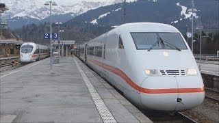 preview picture of video 'Zugverkehr in Garmisch-Partenkirchen [HD]'
