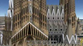 preview picture of video 'La Sagrada Familia, Antoni Gaudi'