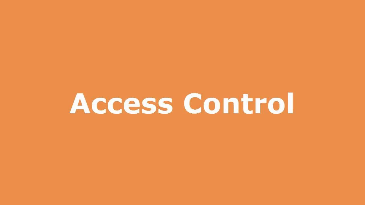 Play SOLE Access Control