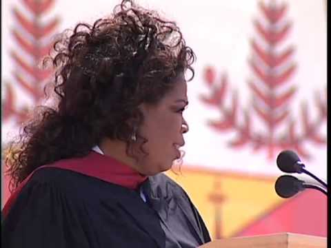 Oprah Winfrey's Stanford Commencement Address