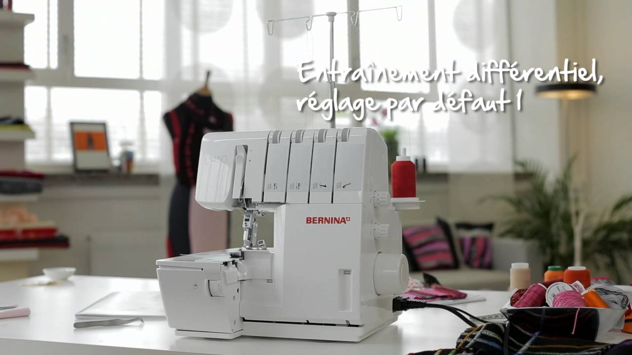 BERNINA L 450 : introduction vidéo 4/8