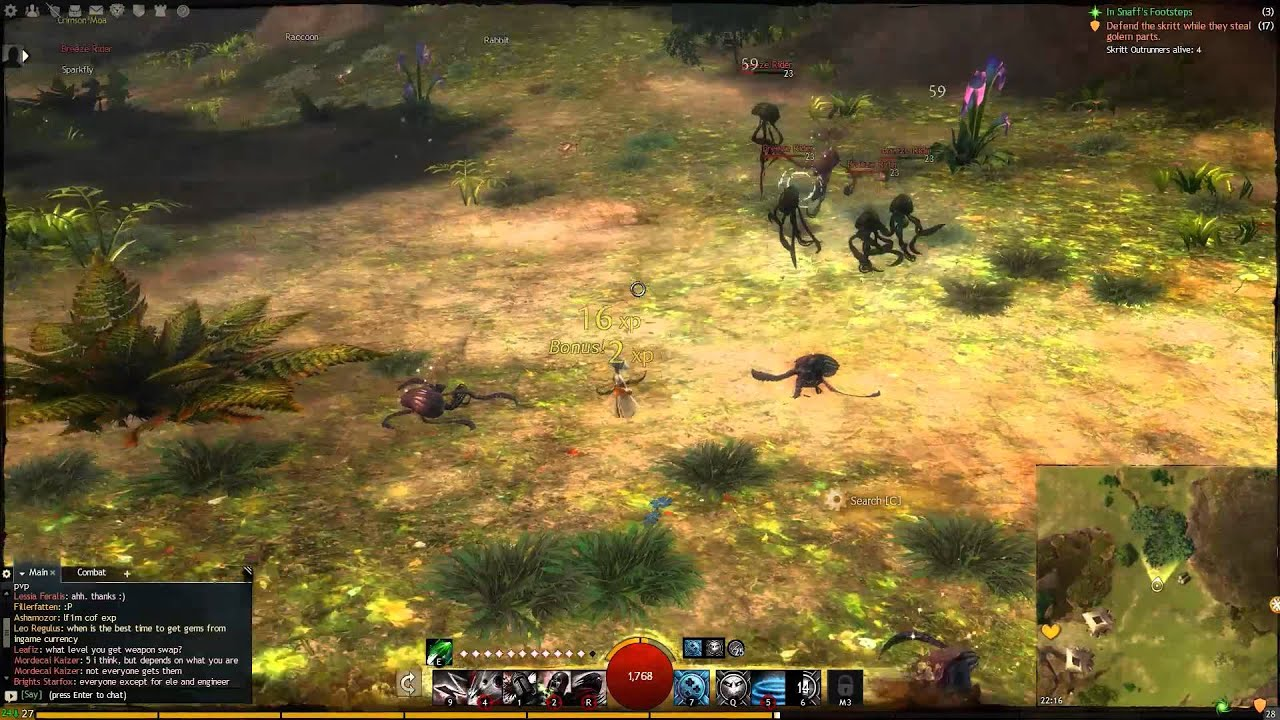 Guild Wars 2 Modded Into Third-Person Shooter