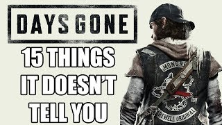 15 Beginners Tips And Tricks Days Gone Doesn't Tell You