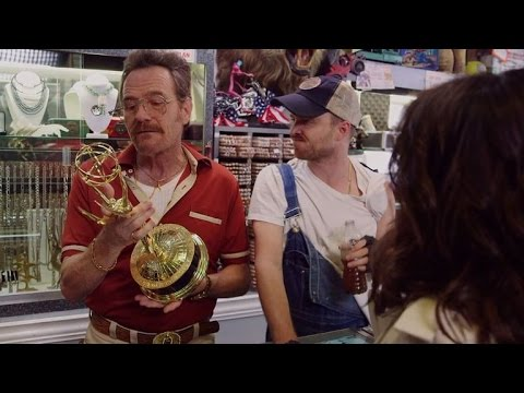 That time when Bryan Cranston and Aaron Paul owned a barely legal pawn shop.