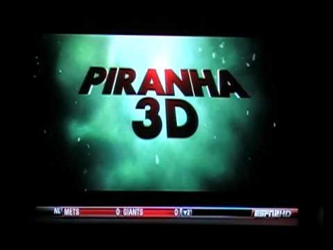 Piranha 3-D TV Spot