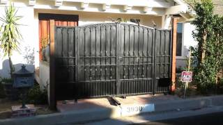 Iron Driveway and Entry Gates | Mulholland Security 1.800.562.5770