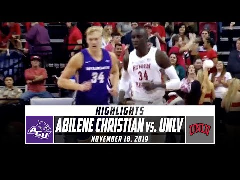 Abilene Christian vs. UNLV Basketball Highlights (2019-20) | Stadium