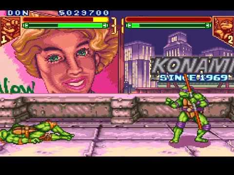Teenage Mutant Ninja Turtles Tournament Fighters Walkthrough