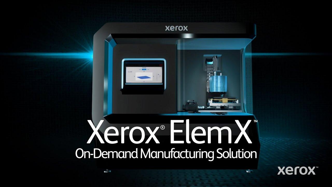 Presentación de la impresora de metal líquido Xerox® ElemX™ YouTube Video