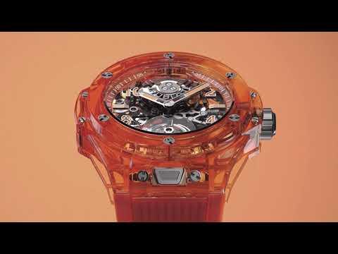 Big Bang Tourbillon Automatic Sapphire Orange