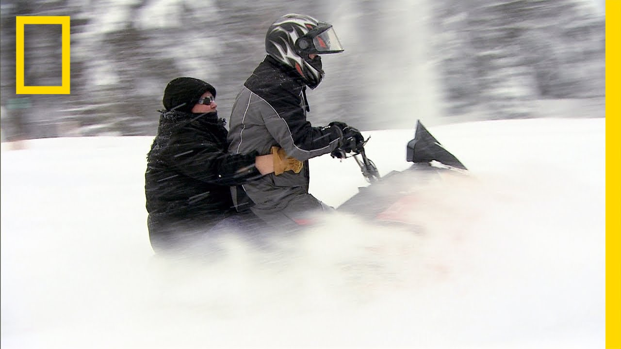 Snowmobiling with Bertha | American Colony: Meet the Hutterites thumbnail