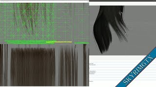 Mini Tutorial: How to change the hair length in Nifskope