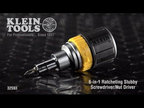 stubby low profile ratchet palm driver screwdriver squat short dr-54 REPACKAGED
