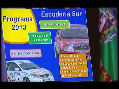Presentado el calendario de pruebas de 2013 del V Open de Automovilismo de la provincia