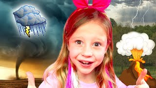 Nastya learns by playing with her dad | Collection of children's videos