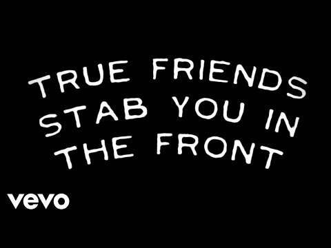 True Friends Lyrics Video