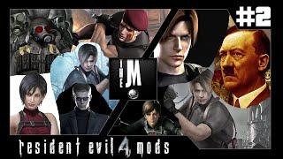 #2 Série de Mods Resident Evil 4 - Personagens em HD - Skins + Vozes + Animações.