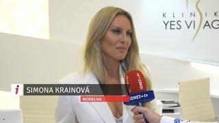 Simona Krainová na slávnostnom otvorení Kliniky