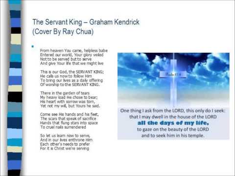 The Servant King chords & lyrics - Graham Kendrick