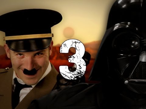 Hitler vs Vader 3. Epic Rap Battles of History Season