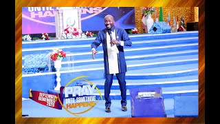 """You Don't Plead The Blood Of Jesus, You Speak The Blood"" - Apostle Suleman Speaks"