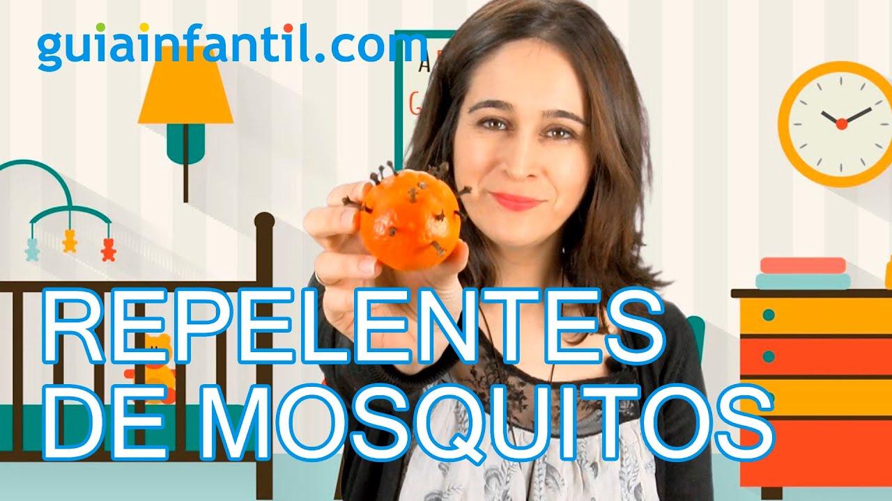 Cómo hacer repelentes de mosquitos caseros. Trucos para padres