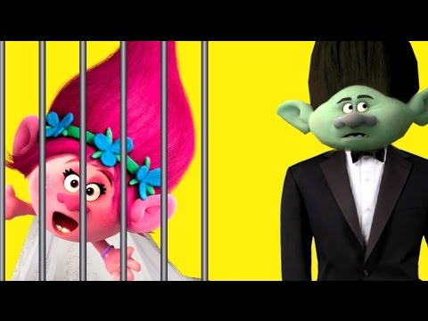 Trolls Movie Poppy is Kidnapped on Her Wedding Day, Will She Escape in Time to get Married?