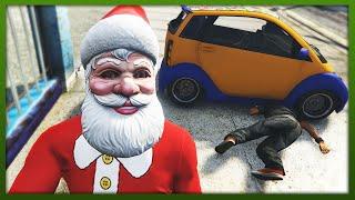 GTA 5 - Worst Santa Ever! - (GTA 5 Funny Moments)